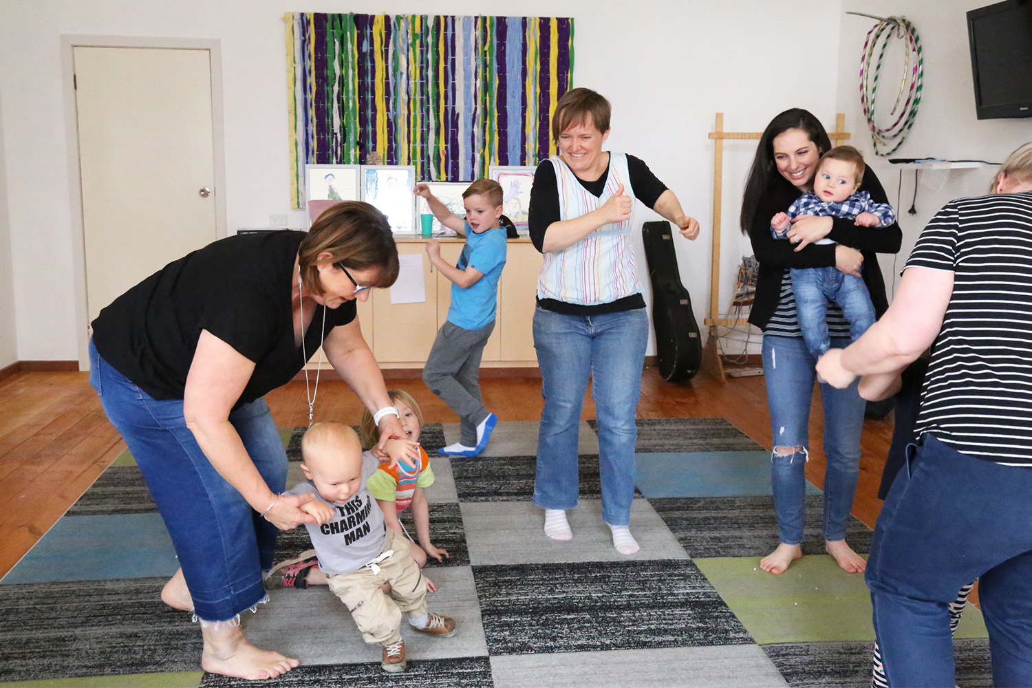 Music Together® Family Classes Term 3 2019 Saturdays 9.00am Merbein