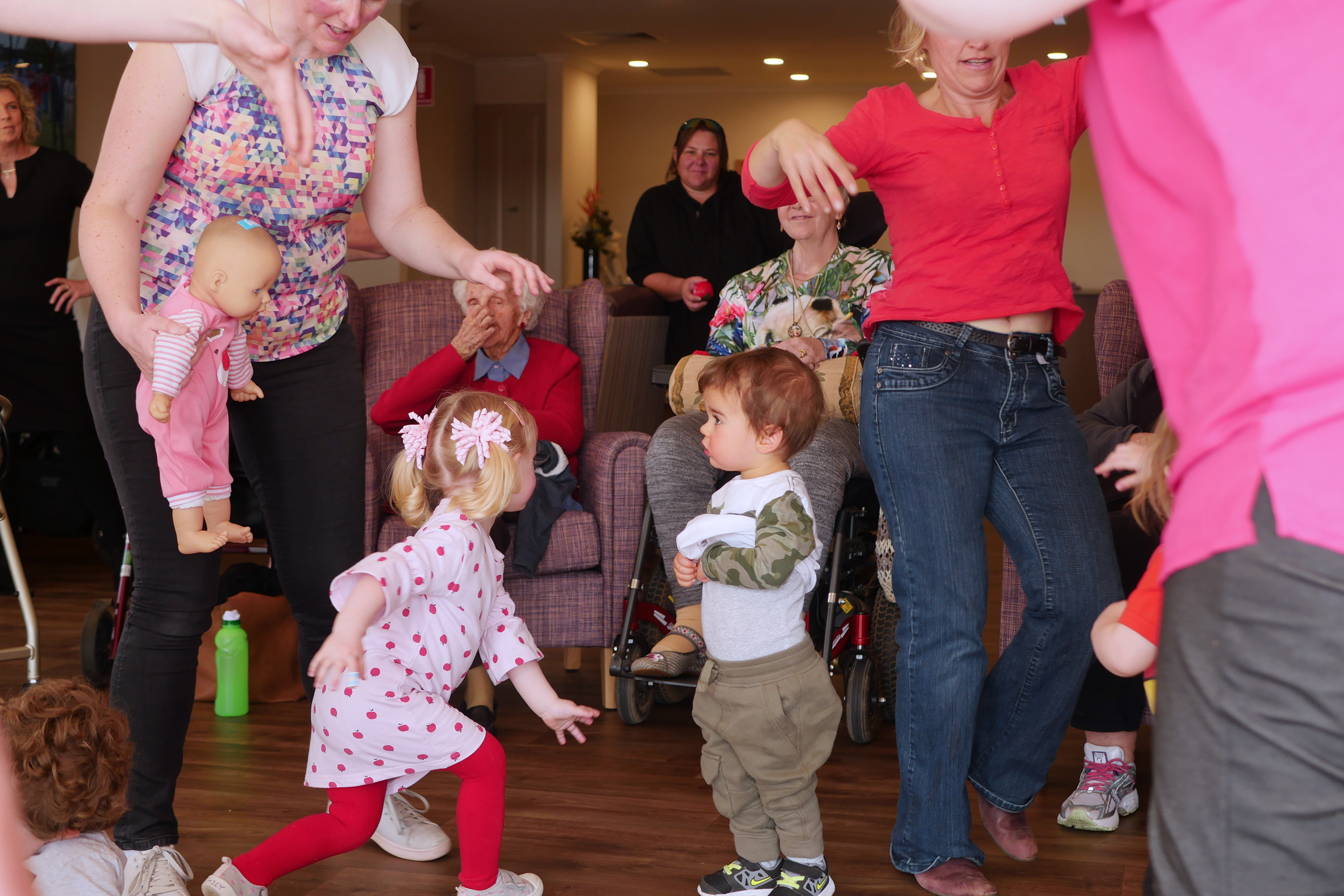 Generations Music Together Term 3 2019 Friday 10.30am Chaffey Aged Care