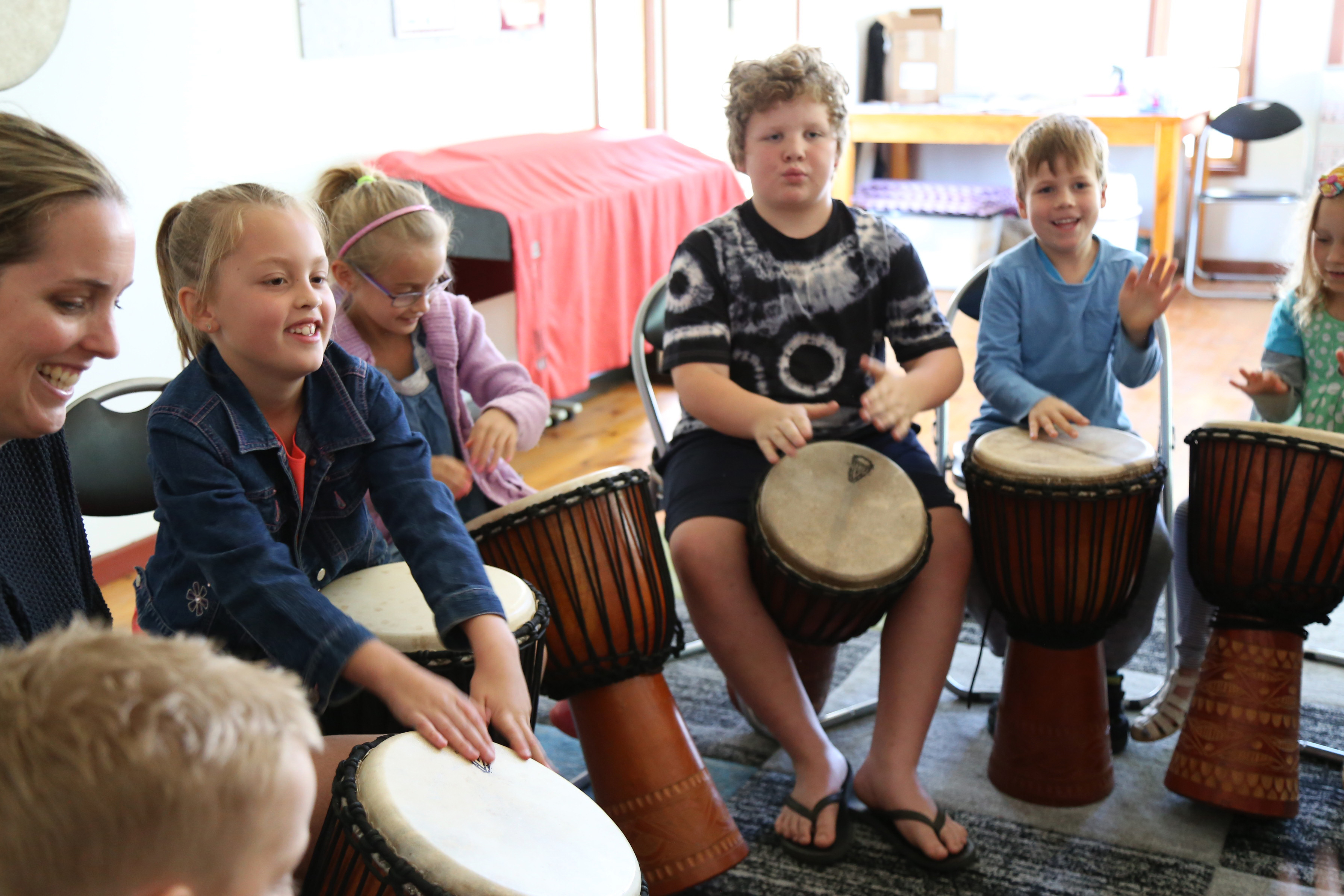 School Holiday Drumming Workshop for 5-10 year olds