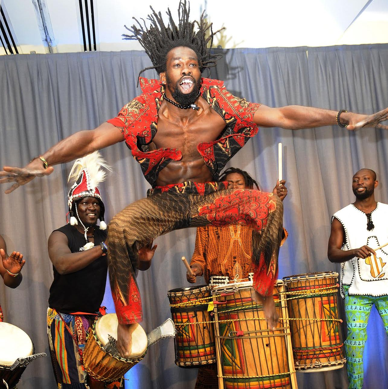African Drumming for All with Shabba August 21st 7.30pm